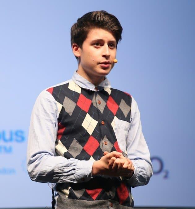 Nick d'Aloisio um jovem empreendedor de sucesso